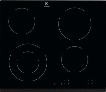 Placa Vitrocerámica Electrolux EHF6241FOK de 60 cm con 4 Zonas de cocción