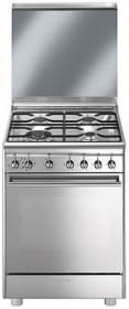 SMEG CX68M8-1 Cocina Gas Clasica 60cm 4 Fuegos Inox | Envío Gratis - 1