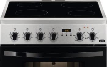 Cocina Vitrocerámica Zanussi ZCV65311XA Inox de 85 x 60 cm con 4 zonas y Horno Grill Multifunción Clase A - 2
