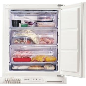 Congelador Vertical Zanussi ZUF11420SA 1P Integrable bajo encimera de 81.5 x 55 cm Blanco Clase A+ - 1
