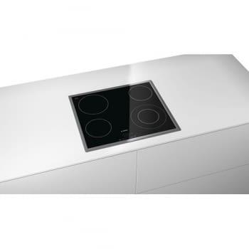Placa Vitrocerámica Bosch PKF645B17E de 60 cm con 4 Zonas de cocción | TouchSelect | Serie 4 - 4