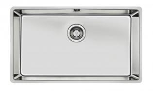 Fregadero bajo encimera de 80 cm con una cubeta con SilentSmart | Modelo 115000004 de TEKA