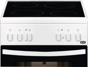 Cocina Vitrocerámica Zanussi ZCV540G1WA Blanca de 85 x 50 cm con 4 zonas y Horno Grill Clase A - 2