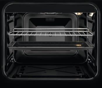 Cocina Vitrocerámica Zanussi ZCV540G1WA Blanca de 85 x 50 cm con 4 zonas y Horno Grill Clase A - 4