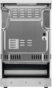 Cocina Vitrocerámica Zanussi ZCV540G1WA Blanca de 85 x 50 cm con 4 zonas y Horno Grill Clase A - 5