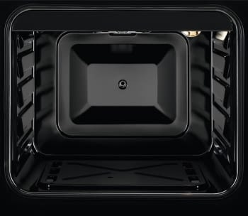 Cocina a Gas Zanussi ZCG510G1WA Blanca de 86 x 50 cm con 4 quemadores gas butano y Horno de gas con Grill - 3