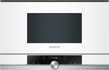 Siemens BF634LGW1 Microondas 38cm Blanco | Apertura Izquierda| 21L | Promocionado