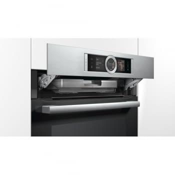 Horno con vapor Bosch HSG636BS1 | INOX Cristal Negro | Vapor Multifunción | Abatible | Clase A+ promocionado - 6