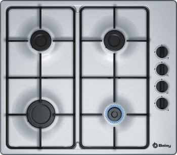 Balay 3ETX464MB Placa Gas Inox 4 Fuegos 60 cm