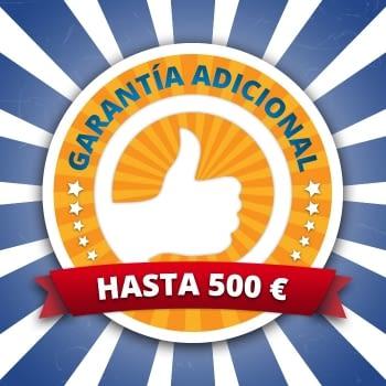 AMPLIACIÓN GARANTÍA 3 AÑOS VALOR MÁXIMO 500 EUROS