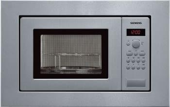 Siemens HF15G561 Microondas Integrable Inoxidable Antihuellas 17L | Función Grill | iQ100