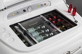 Smeg SMEG500B Frigorífico Blanco Diseño Fiat 500 Años 50 A+ ¡Envío Gratis! - 4