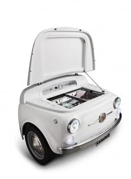 Smeg SMEG500B Frigorífico Blanco Diseño Fiat 500 Años 50 A+ ¡Envío Gratis! - 5