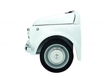 Smeg SMEG500B Frigorífico Blanco Diseño Fiat 500 Años 50 A+ ¡Envío Gratis! - 6