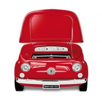 Smeg SMEG500R Frigorífico Rojo | Diseño capó coche | Línea Retro Años 50 | A+ | ¡Envío Gratis!