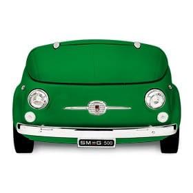 Smeg SMEG500V Frigorífico Verde | Diseño capó coche | Línea Retro Años 50 | A+ | ¡Envío Gratis!