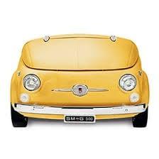 Smeg SMEG500G Frigorífico Amarillo | Diseño capó coche | Línea Retro Años 50 | A+ | ¡Envío Gratis!