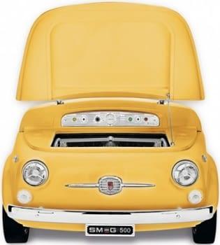Smeg SMEG500G Frigorífico Amarillo | Diseño capó coche | Línea Retro Años 50 | A+ | ¡Envío Gratis! - 2