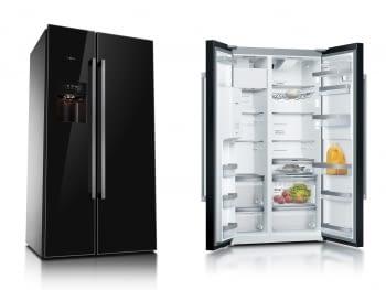 Frigorífico Americano Bosch KAD92SB30 Wifi Cristal Negro   Envío + Instalación Gratis
