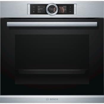 Horno Bosch HBG6764S1 Pirolítico Inoxidable de 60 cm con termosonda PerfectRoast, cocción 4D | Clase A+ | Serie 8