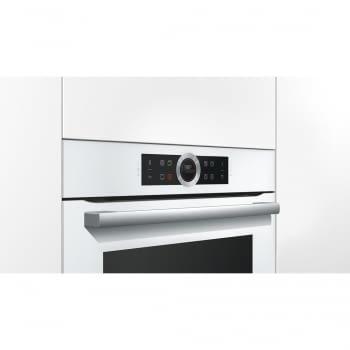 Horno Bosch HBG675BW1 Pirolítico Blanco de 60 cm | Recetas Pre-Programadas Gourmet | Calentamiento 4D Profesional | Clase A+ | Serie 8 - 5