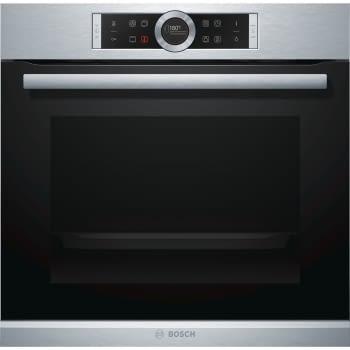 Horno Bosch HBG635NS1 Inoxidable de 60 cm | Recetas pre-programadas Gourmet | Calentamiento 4D Profesional | Clase A+
