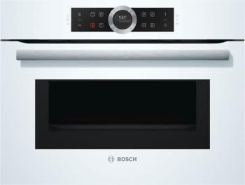 Bosch CMG633BW1 Horno Microondas Multifunción Compacto 45cm | Cristal Blanco | Abatible