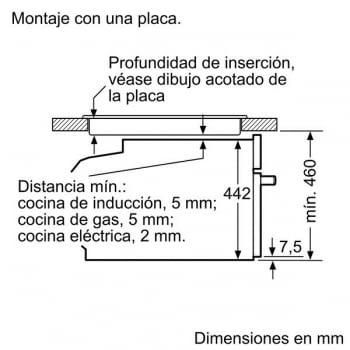 Bosch CMG633BW1 Horno Microondas Multifunción Compacto 45cm | Cristal Blanco | Abatible | Stock - 4