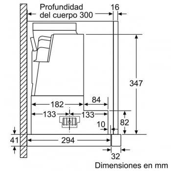 Campana Telescópica Bosch DFS097K50 en Acero inoxidable de 90 cm a 708 m³/h | Motor EcoSilence - 9