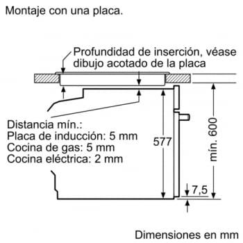 Horno Bosch HBG675BB1 Negro de 60 cm Multifunción Pirolítico con Calentamiento 4D Recetas Gourmet y Clase A+ | Serie 8 - 7