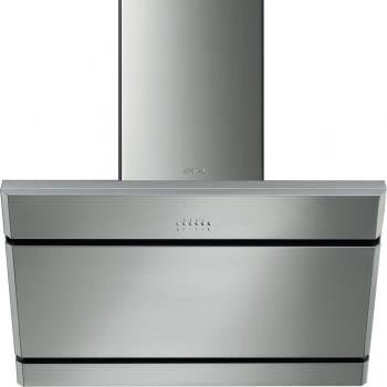 SMEG KL175XE Campana de pared Inclinada | 75 cm | Acero Inoxidable | 825 m³  | Envío Gratis