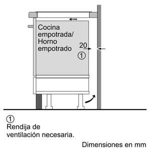 Siemens EH775LDC1E Inducción 70cm | 3 Zonas de Inducción de max. 32cm - 9