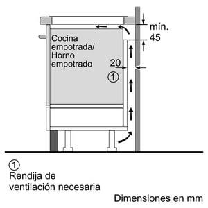 Siemens EH675FJC1E Inducción 60cm | 3 Zonas de Inducción de max. 28cm - 8