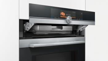 Horno Microondas Siemens HN678G4S6 Pirolítico Inoxidable con Vapor | Wifi Home Connect | iQ700 - 3