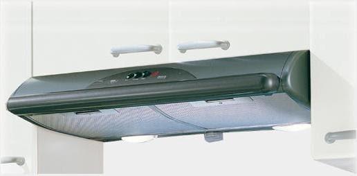 MEPAMSA MITO JET 90 GRIS METAL CAMPANA 90CM 490M3/H