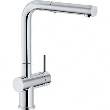 FRANKE ACTIVE PLUS PULL-OUT SPRAY GRIFO CROMADO CAÑO ALTO EXTRAIBLE - 1