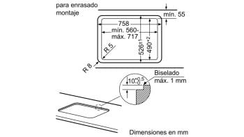 Placa de Gas Balay 3ETG676HB Cristal Negro | 75cm | 4 Fuegos y 1 Wok de doble llama | Gas Stop | Autoencendido integrado - 5