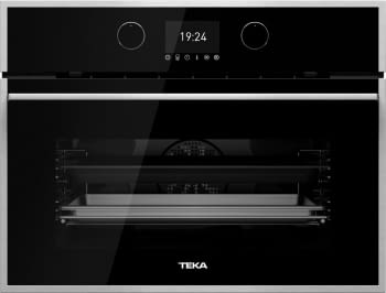 Horno Compacto Teka HLC 860 P Pirolítico Multifunción en Cristal negro con Surroundtemp, 20 Recetas Clase A+