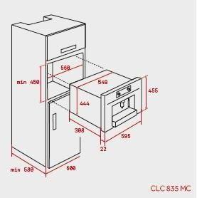 TEKA CLC 835 MC CAFETERA INTEGRABLE INOX AUTOMATICA - 2