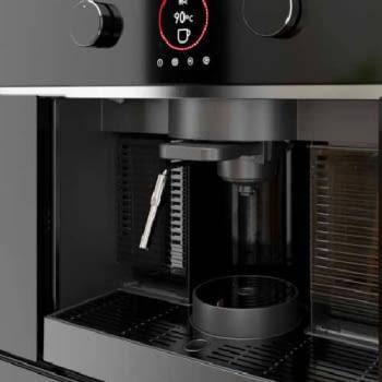 Cafetera Teka CLC 835 MC Expresso Compatible con 5 Tipos de Cápsulas y Café Molido   Ref 40589513   16 bar   2L de Agua   Integrable en Columna - 2