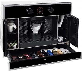 Cafetera Teka CLC 835 MC Expresso Compatible con 5 Tipos de Cápsulas y Café Molido   Ref 40589513   16 bar   2L de Agua   Integrable en Columna - 3