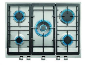 TEKA EX/70.1 5G AI AL DR CI NAT (E1) PLACA GAS 68x50cm 5 FUEGOS INOX