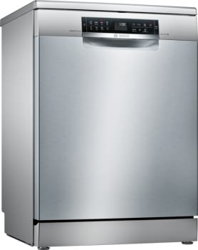 Lavavajillas Bosch SMS68TI03E Inoxidable antihuellas de 60 cm para 14 Servicios | Secado mediante Zeolitas | Motor EcoSilence A+++ | Serie 6