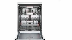 Lavavajillas Bosch SMS68TI03E Inoxidable antihuellas de 60 cm para 14 Servicios | Secado mediante Zeolitas | Motor EcoSilence A+++ | Serie 6 | Stock - 6