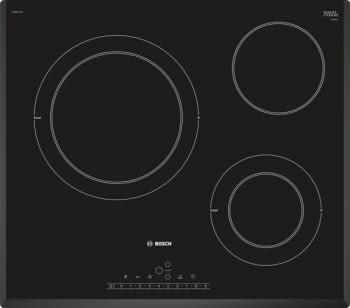 Placa Vitrocerámica Bosch PKK651FP2E de 60 cm con 3 Zonas de cocción con función Sprint | DirectSelect | Serie 6 | STOCK