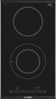 Placa Dominó Bosch PKF375FP1E Vitrocerámica de 30 cm con 2 Zonas de cocción | DirectSelect | Serie 6