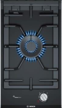 Placa Dominó Bosch PRA3A6D70 de Gas Natural, de 30 cm con 1 Quemador Wok FlameSelect 9 niveles de potencia | Serie 8