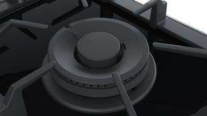 Placa Dominó Bosch PRA3A6D70 de Gas Natural, de 30 cm con 1 Quemador Wok FlameSelect 9 niveles de potencia | Serie 8 - 5