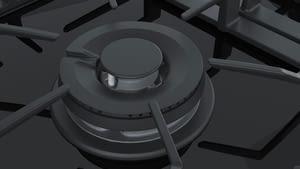 Placa de Gas Bosch PRS9A6D70 con Gas Natural de 90 cm con 5 Quemadores FlameSelect 9 niveles | Serie 8 - 5