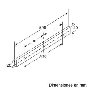 Campana Telescópica Bosch DFT63AC50 Plateada de 60 cm a 368 m³/h   Clase D   Serie 4   Stock - 8